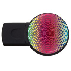 Abstract Circle Colorful Usb Flash Drive Round (2 Gb)