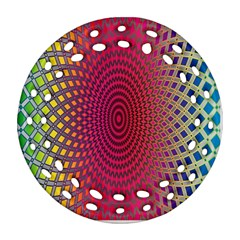 Abstract Circle Colorful Ornament (round Filigree)
