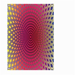 Abstract Circle Colorful Large Garden Flag (Two Sides)