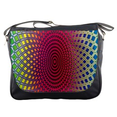 Abstract Circle Colorful Messenger Bags