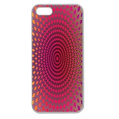 Abstract Circle Colorful Apple Seamless iPhone 5 Case (Clear)