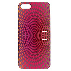 Abstract Circle Colorful Apple iPhone 5 Hardshell Case with Stand