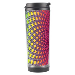 Abstract Circle Colorful Travel Tumbler