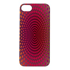 Abstract Circle Colorful Apple iPhone 5S/ SE Hardshell Case