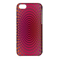 Abstract Circle Colorful Apple Iphone 5c Hardshell Case