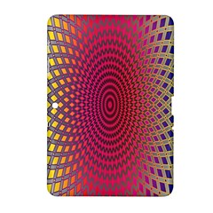 Abstract Circle Colorful Samsung Galaxy Tab 2 (10.1 ) P5100 Hardshell Case