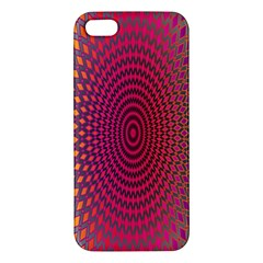 Abstract Circle Colorful iPhone 5S/ SE Premium Hardshell Case