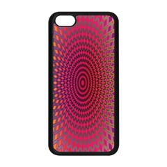 Abstract Circle Colorful Apple Iphone 5c Seamless Case (black)