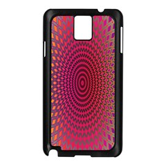 Abstract Circle Colorful Samsung Galaxy Note 3 N9005 Case (Black)