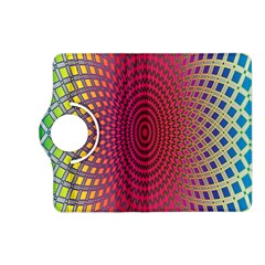 Abstract Circle Colorful Kindle Fire HD (2013) Flip 360 Case