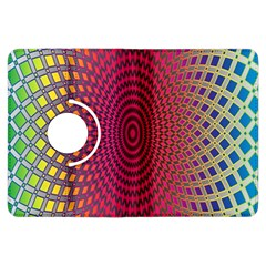 Abstract Circle Colorful Kindle Fire HDX Flip 360 Case
