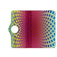 Abstract Circle Colorful Kindle Fire HDX 8.9  Flip 360 Case