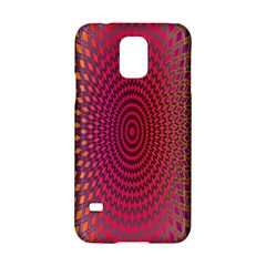 Abstract Circle Colorful Samsung Galaxy S5 Hardshell Case