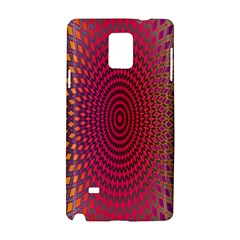 Abstract Circle Colorful Samsung Galaxy Note 4 Hardshell Case