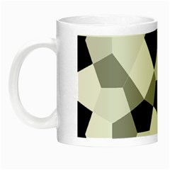 Pentagons Decagram Plain Triangle Night Luminous Mugs