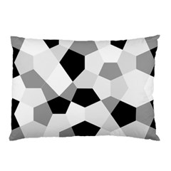 Pentagons Decagram Plain Triangle Pillow Case (two Sides)