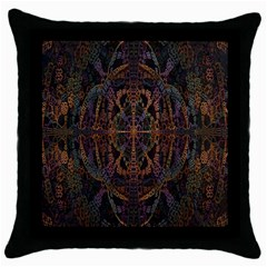 Digital Art Throw Pillow Case (black)