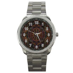 Digital Art Sport Metal Watch