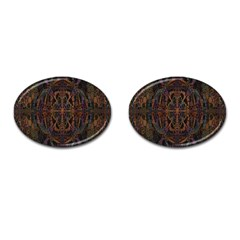 Digital Art Cufflinks (Oval)