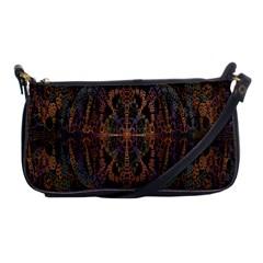 Digital Art Shoulder Clutch Bags
