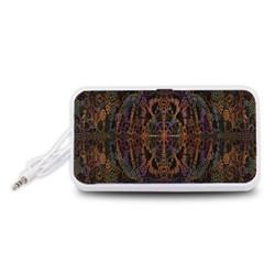 Digital Art Portable Speaker (White)