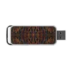 Digital Art Portable Usb Flash (one Side)