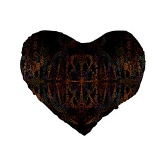 Digital Art Standard 16  Premium Heart Shape Cushions
