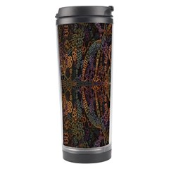 Digital Art Travel Tumbler