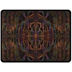Digital Art Double Sided Fleece Blanket (Large)