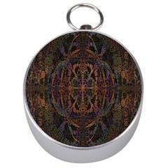 Digital Art Silver Compasses