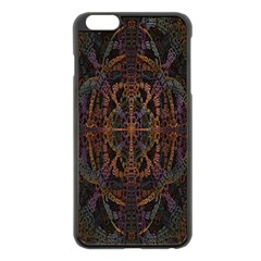 Digital Art Apple iPhone 6 Plus/6S Plus Black Enamel Case