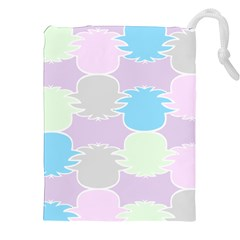 Pineapple Puffle Blue Pink Green Purple Drawstring Pouches (xxl)