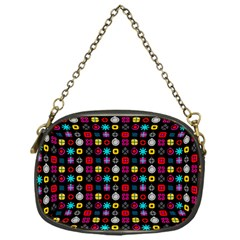 N Pattern Holiday Gift Star Snow Chain Purses (one Side)