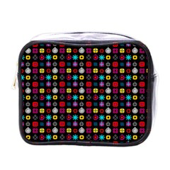 N Pattern Holiday Gift Star Snow Mini Toiletries Bags