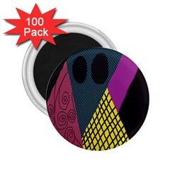 Sally Skellington Fabric 2 25  Magnets (100 Pack)