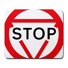 Stop Sign Large Mousepads