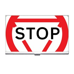Stop Sign Business Card Holders