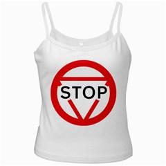 Stop Sign Ladies Camisoles