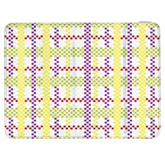 Webbing Plaid Color Samsung Galaxy Tab 7  P1000 Flip Case