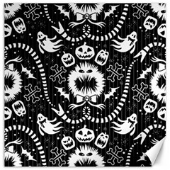 Wrapping Paper Nightmare Monster Sinister Helloween Ghost Canvas 16  X 16