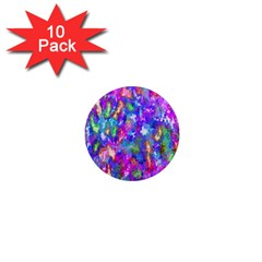 Abstract Trippy Bright Sky Space 1  Mini Magnet (10 Pack)