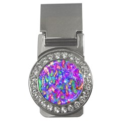 Abstract Trippy Bright Sky Space Money Clips (CZ)