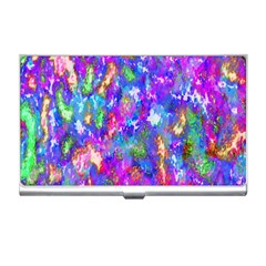 Abstract Trippy Bright Sky Space Business Card Holders
