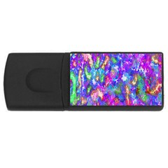 Abstract Trippy Bright Sky Space USB Flash Drive Rectangular (1 GB)