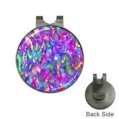 Abstract Trippy Bright Sky Space Hat Clips With Golf Markers