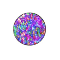 Abstract Trippy Bright Sky Space Hat Clip Ball Marker
