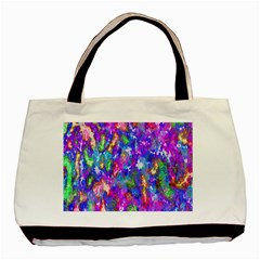 Abstract Trippy Bright Sky Space Basic Tote Bag