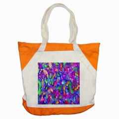 Abstract Trippy Bright Sky Space Accent Tote Bag