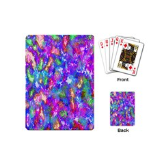 Abstract Trippy Bright Sky Space Playing Cards (mini)