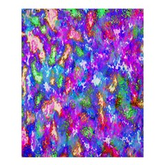 Abstract Trippy Bright Sky Space Shower Curtain 60  X 72  (medium)